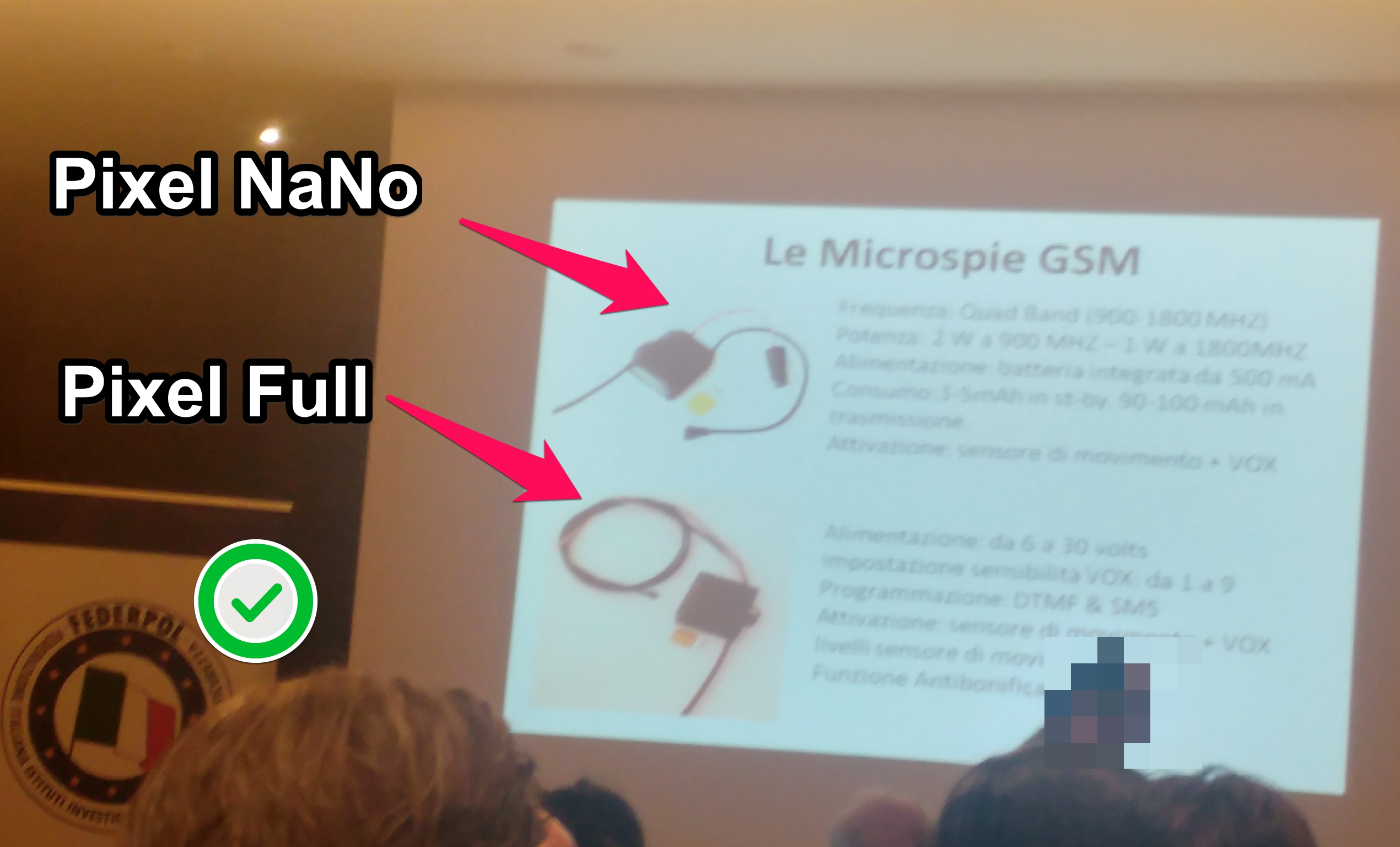 Microspia gsm professionale